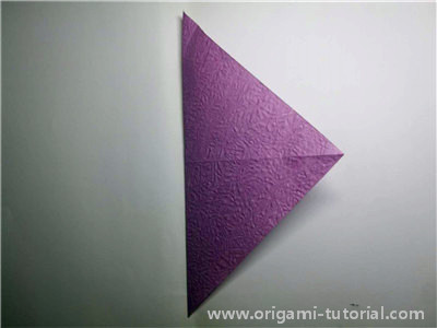 easy-origami-bird-Step 2