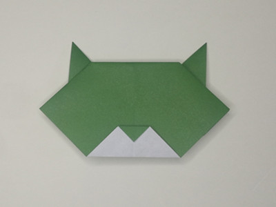 Easy Origami Cat Face