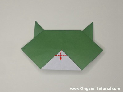 easy-origami-cat-face-Step 8