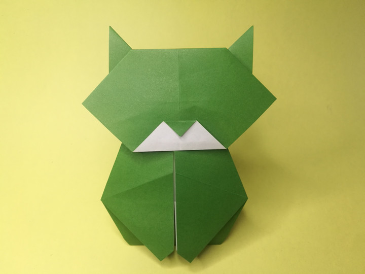 easy crafts ideas to make: step by step origami cat | 540x720