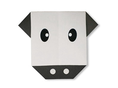 easy-origami-cow-face