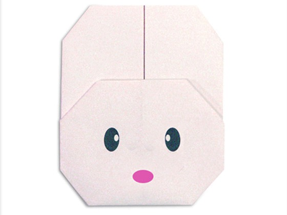 easy-origami-cute-rabbit-face