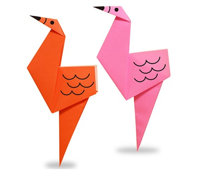 easy-origami-flamingo