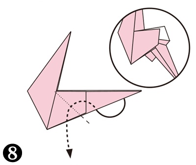 easy-origami-flamingo08