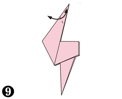 easy-origami-flamingo09