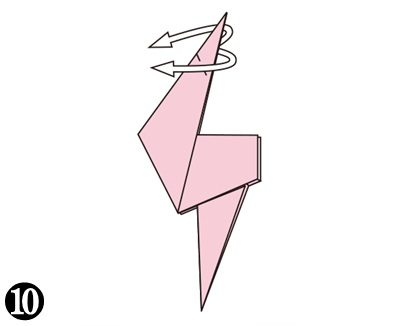 easy-origami-flamingo10