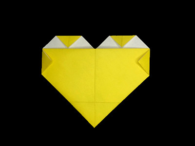 easy-origami-heart-Step 7