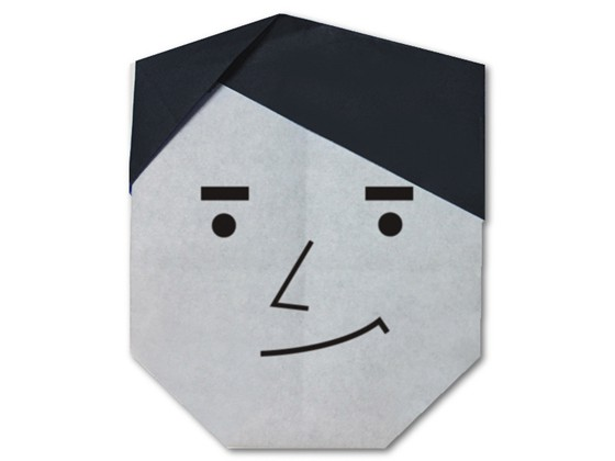 easy-origami-man-face
