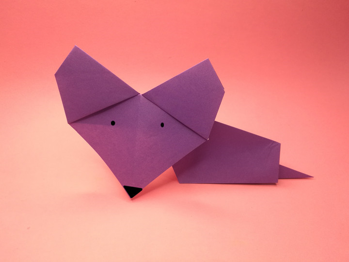 easy origami mouse