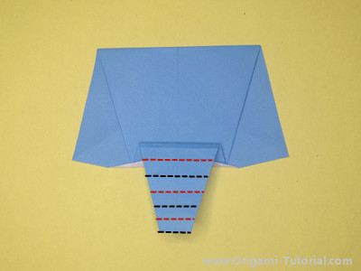 easy-origami-paper-elephant-Step 8