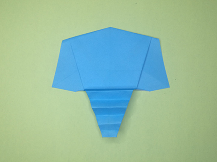 easy-origami-paper-elephant-Step 10