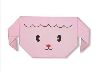 easy-origami-sheep-face