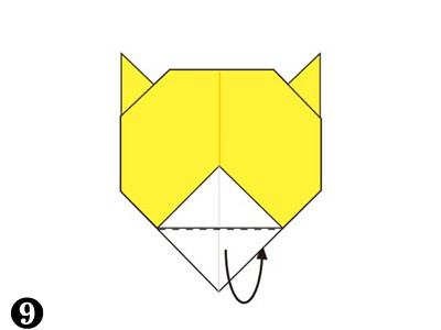 easy-origami-tiger-face09