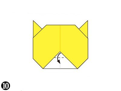 easy-origami-tiger-face10