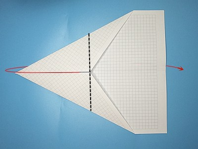 fastest-paper-airplane-Step 6