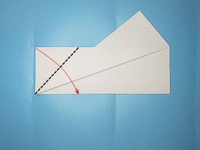 flapping-paper-airplane-Step 6