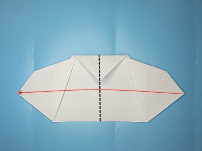 flapping-paper-airplane-Step 13