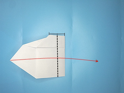 flapping-paper-airplane-Step 14