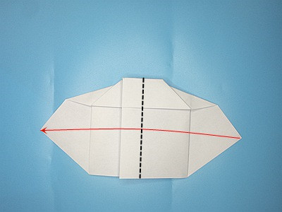 flapping-paper-airplane-Step 15