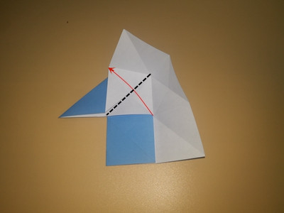 origami-4-pointed-star-Step 8