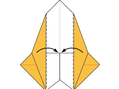 origami-boar-face-Step 14