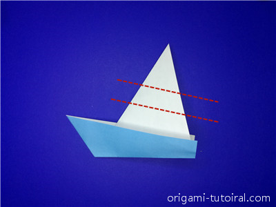 origami flower easy: how to make a origami boat | 300x400