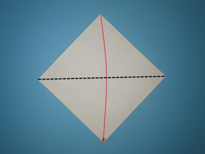 origami-box-with-flaps-Step 1