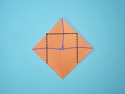 origami-box-with-flaps-Step 7