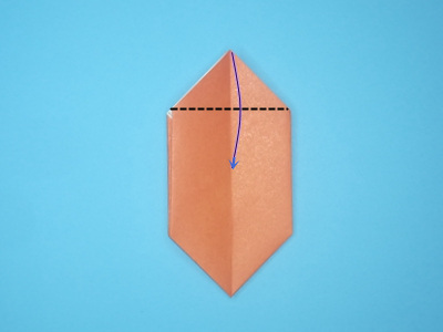 origami-box-with-flaps-Step 10