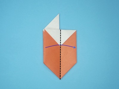 origami-box-with-flaps-Step 11