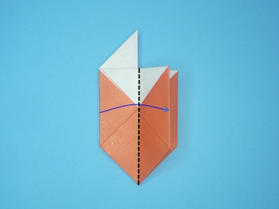 origami-box-with-flaps-Step 12