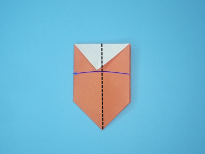 origami-box-with-flaps-Step 14