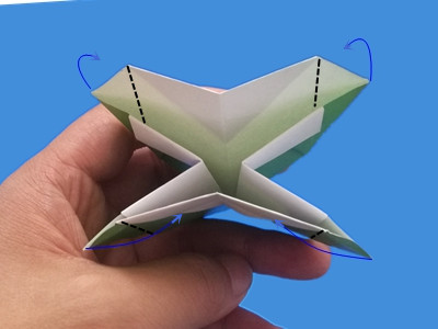 origami-box-with-flaps-Step 22