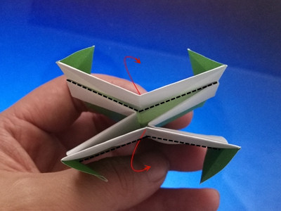 origami-box-with-flaps-Step 23