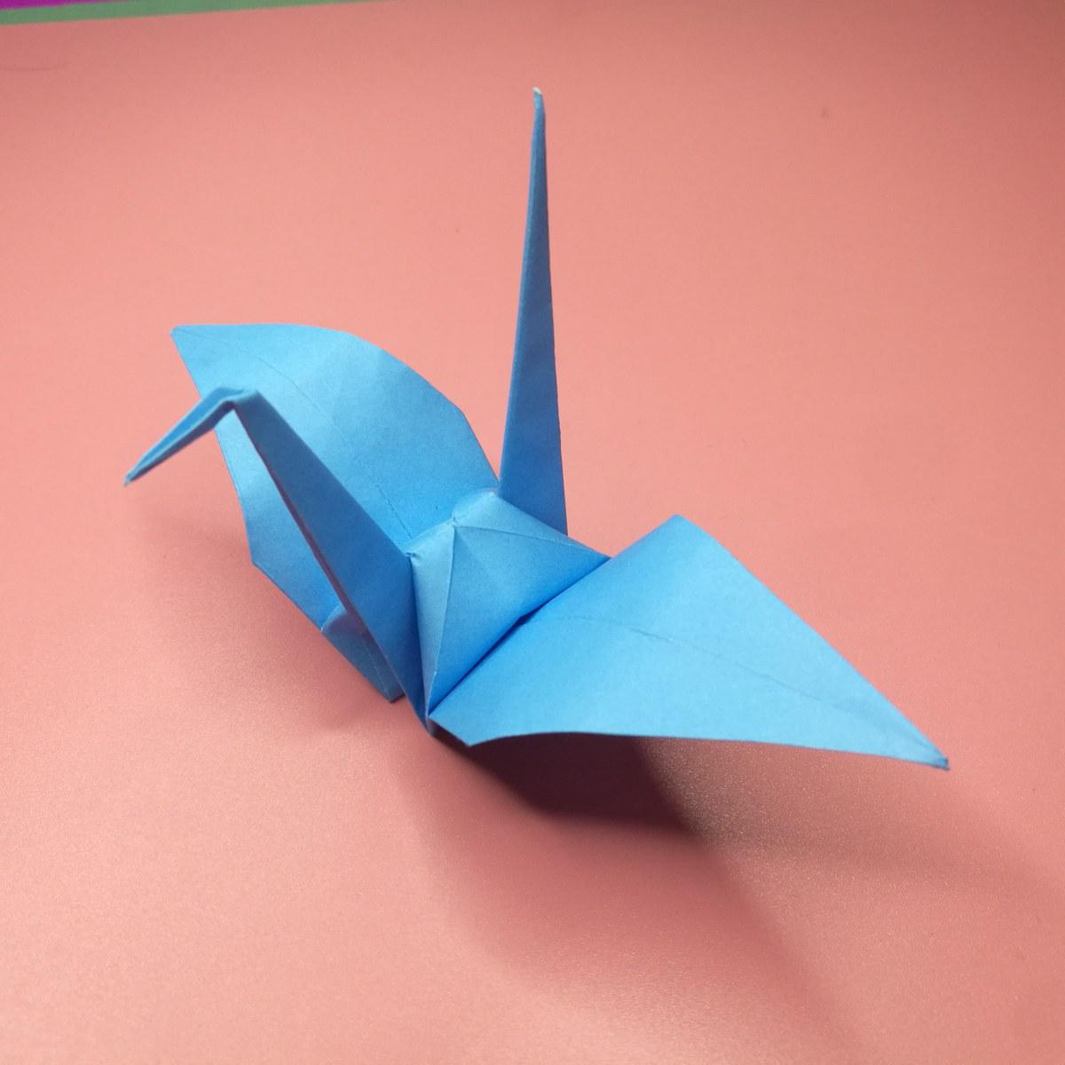 paper peace Crane Bookmark origami - YouTube | 1200x1200