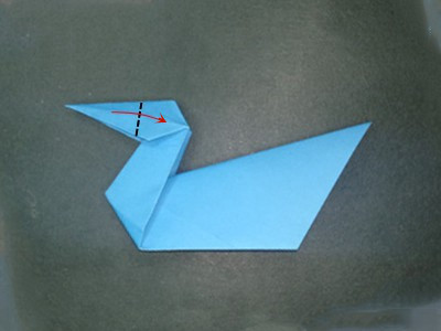 origami-duck-Step 17
