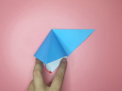 origami-flapping-bird-Step 3-2