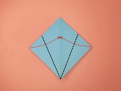 origami-flapping-bird-Step 5