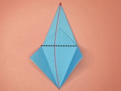 Origami Flapping Bird Photo Tutorial - Paper Kawaii | 300x400