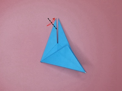 origami-flapping-bird-Step 16