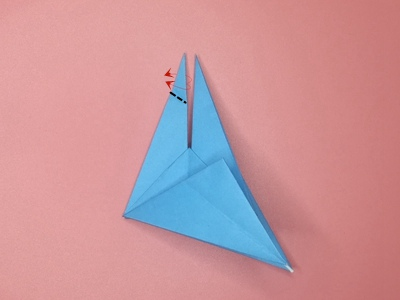 origami-flapping-bird-Step 17