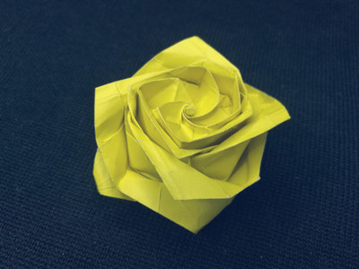 Simple Steps to Making a Beautiful Origami Flower | ULearning | 300x400