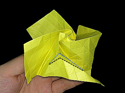 origami-flower-rose-Step 46