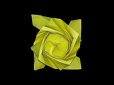 origami-flower-rose-Step 53