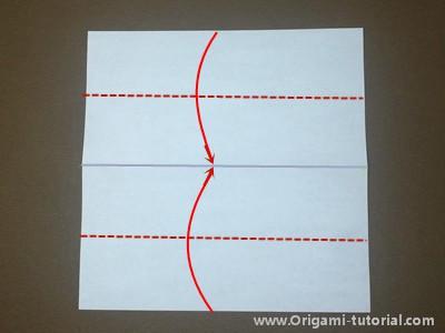 origami-fox-Step 2