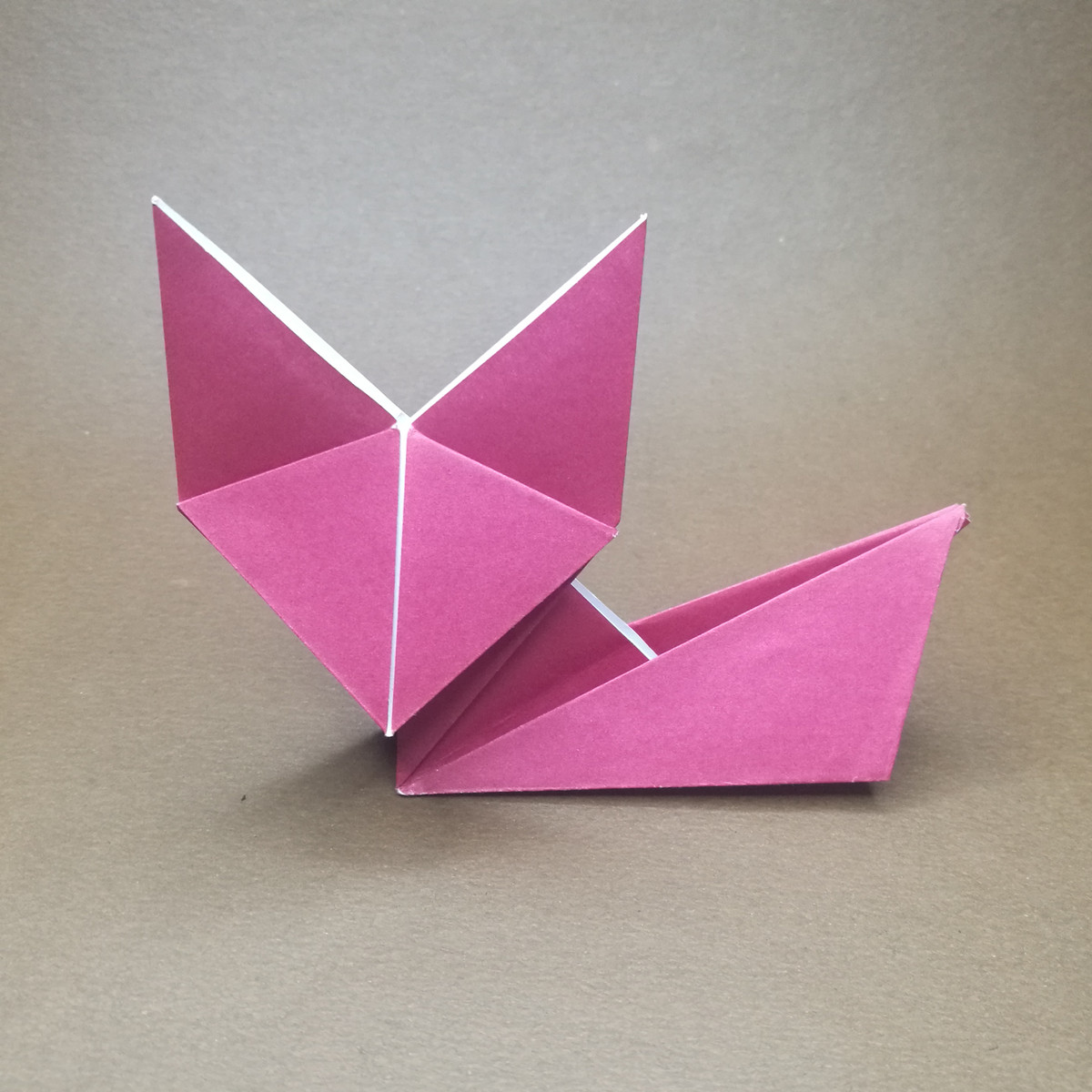 How to make Origami Fox - YouTube | 1200x1200