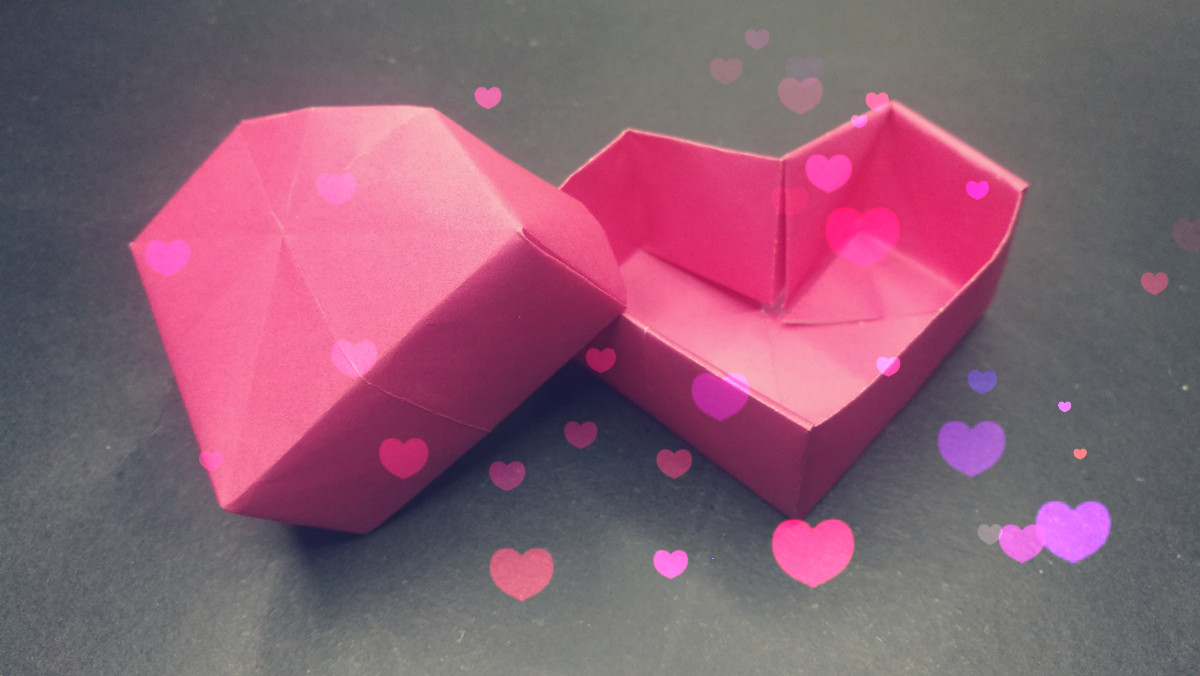 Rectangular Origami Box Instructions | 676x1200