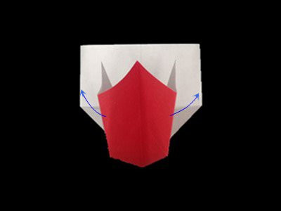 origami-heart-in-heart-Step 15