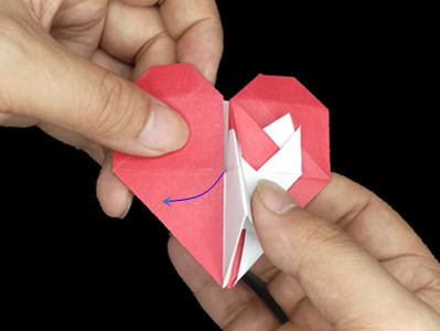origami-heart-in-heart-Step 32-2