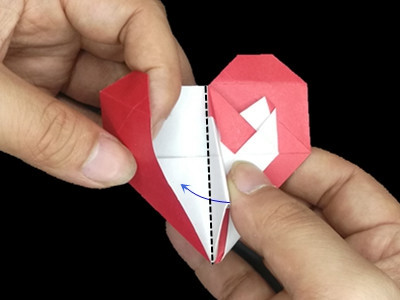 origami-heart-in-heart-Step 32-3